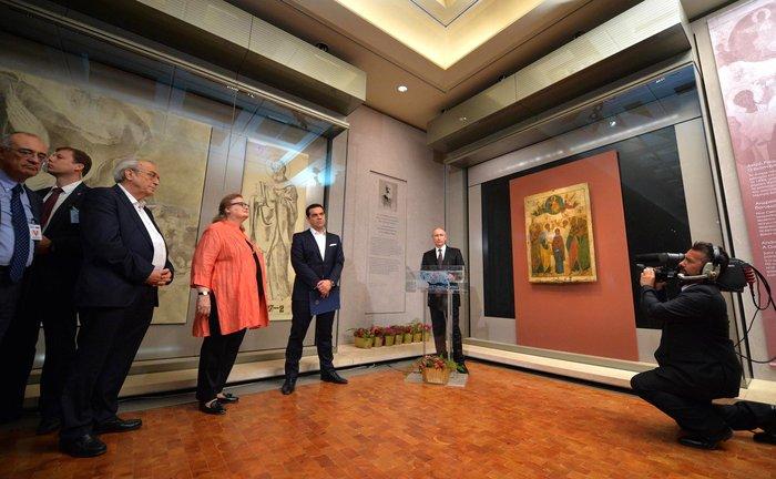 Η επίσκεψη του Πούτιν με τον φακό του Κρεμλίνου