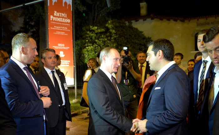 Η επίσκεψη του Πούτιν με τον φακό του Κρεμλίνου - εικόνα 2