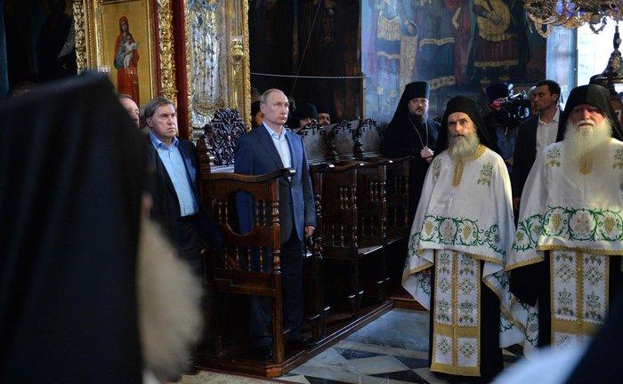 Η επίσκεψη του Πούτιν με τον φακό του Κρεμλίνου - εικόνα 5