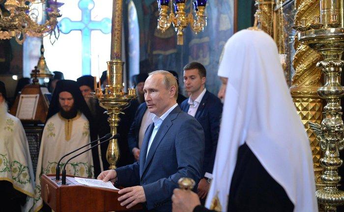 Η επίσκεψη του Πούτιν με τον φακό του Κρεμλίνου - εικόνα 7