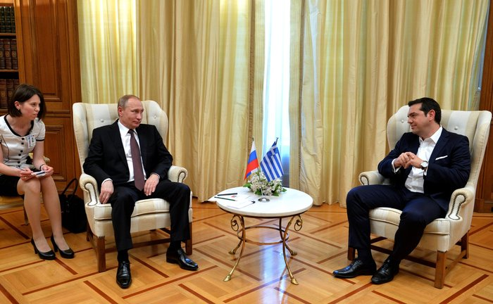 Η επίσκεψη του Πούτιν με τον φακό του Κρεμλίνου - εικόνα 8