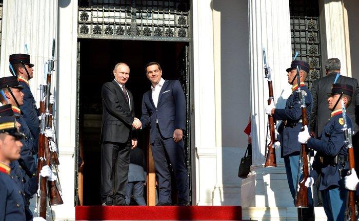 Η επίσκεψη του Πούτιν με τον φακό του Κρεμλίνου - εικόνα 9