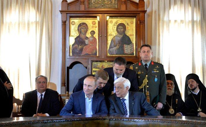 Η επίσκεψη του Πούτιν με τον φακό του Κρεμλίνου - εικόνα 11