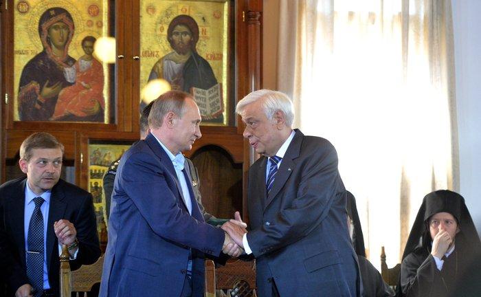 Η επίσκεψη του Πούτιν με τον φακό του Κρεμλίνου - εικόνα 12