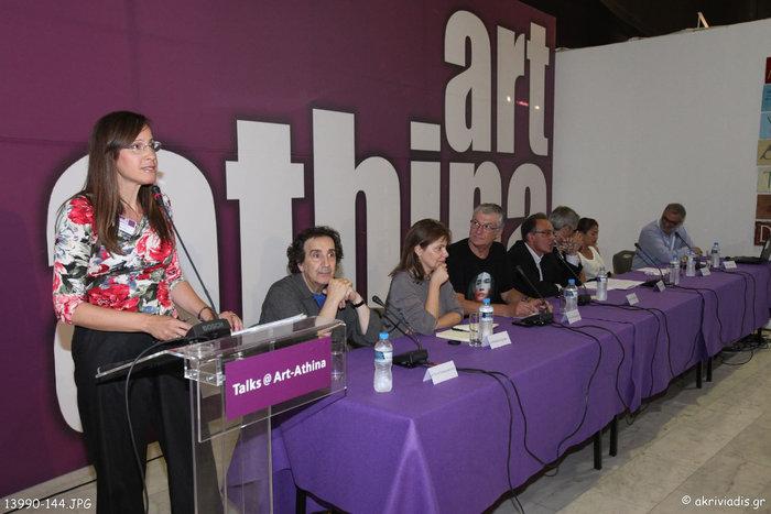 Στο συντονισμό της συζήτησης, η δημοσιογράφος του TheTOC, Κατερίνα Λυμπεροπούλου