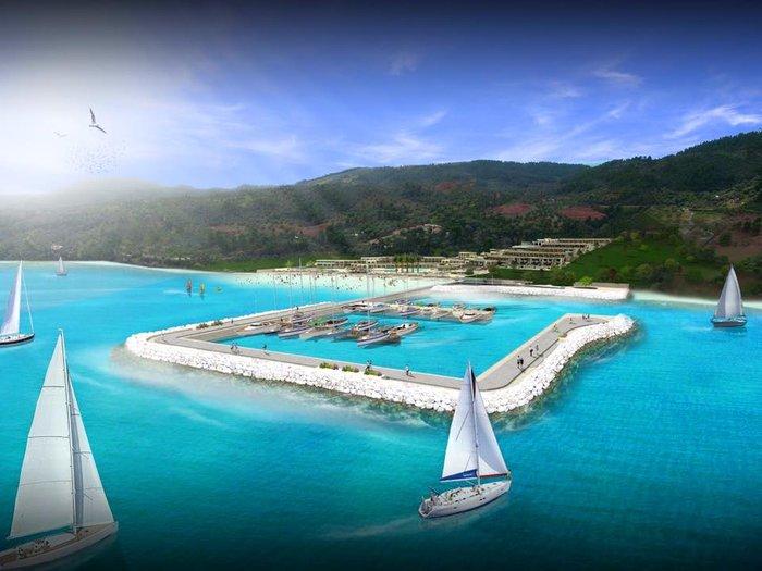 Το υπερπολυτελές θέρετρο της Ελλάδας που κόστισε 120 εκ € και έχει την πιο εντυπωσιακή μαρίνα ξενοδοχείου στη Μεσόγειο! (Photos)