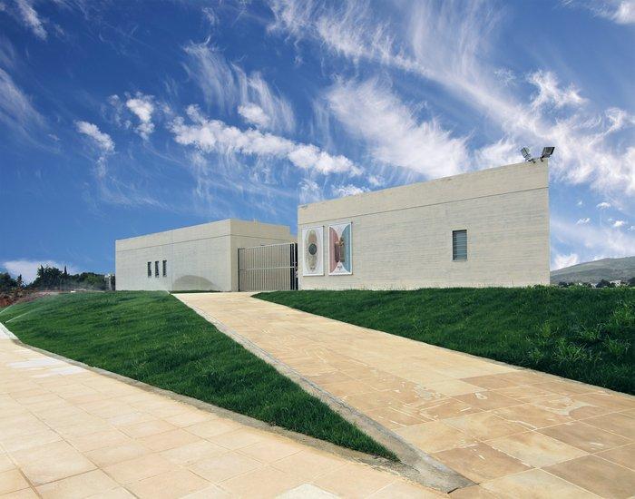 1. Το Μουσείο της αρχαίας Ελεύθερνας, πρόσθια όψη.