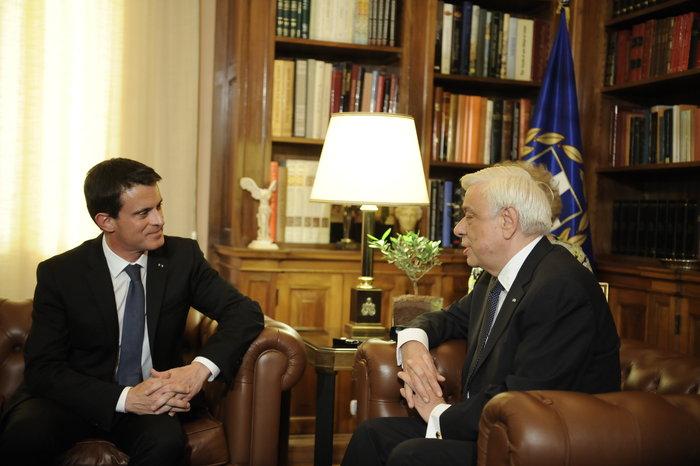 Στην Αθήνα ο Μανουέλ Βαλς-Επαφές με Παυλόπουλο-Τσίπρα - εικόνα 2