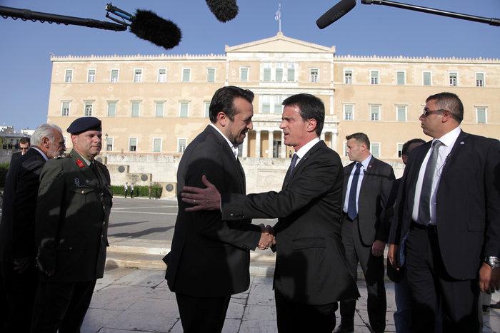 Στην Αθήνα ο Μανουέλ Βαλς-Επαφές με Παυλόπουλο-Τσίπρα - εικόνα 3