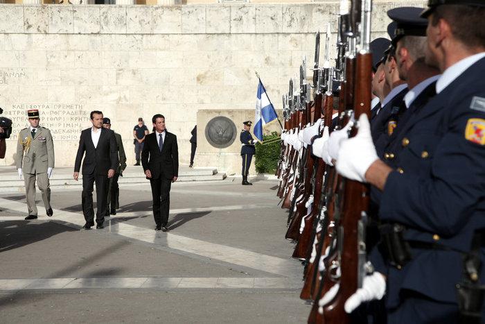 Στην Αθήνα ο Μανουέλ Βαλς-Επαφές με Παυλόπουλο-Τσίπρα - εικόνα 4