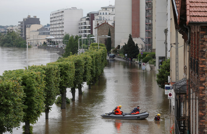 Πλωτή πόλη το Παρίσι, συνεχής η άνοδος της στάθμης του Σηκουάνα - εικόνα 2