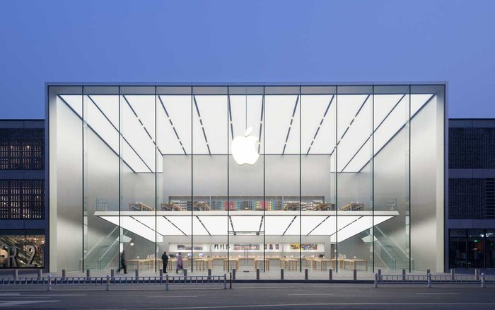 Apple Store, Κίνα