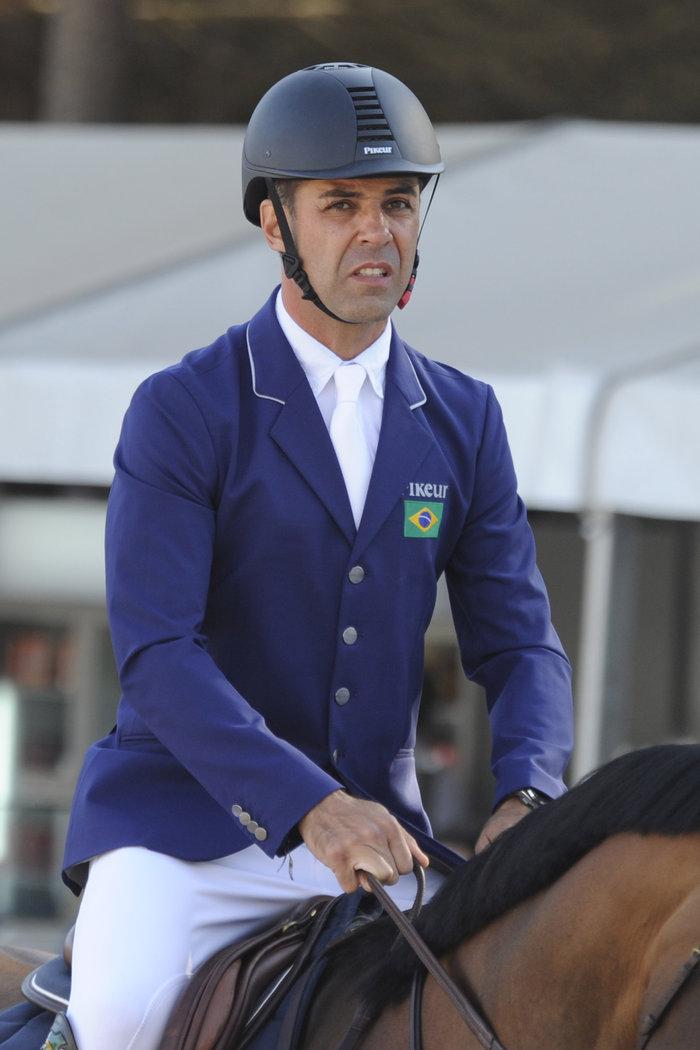 Ο Αλβάρο στο Longines Athina Onassis Horse Show