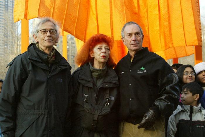 Κρίστο και Ζαν Κλοντ με τον δήμαρχο της Νέας Υόρκης το 2005