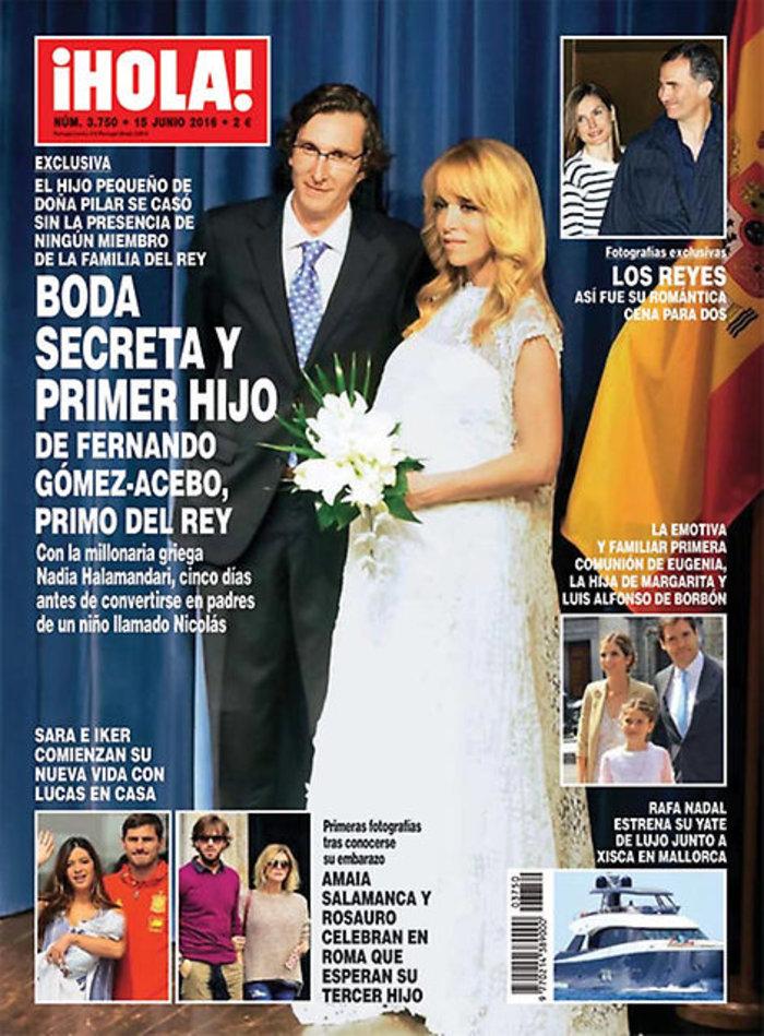 Ο κρυφός γάμος ελληνίδας δημοσιογράφου με τον πρίγκιπα της Ισπανίας!