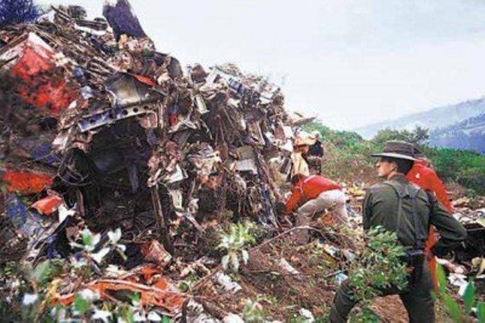 Από την αεροπορική τραγωδία της Avianca το 1989
