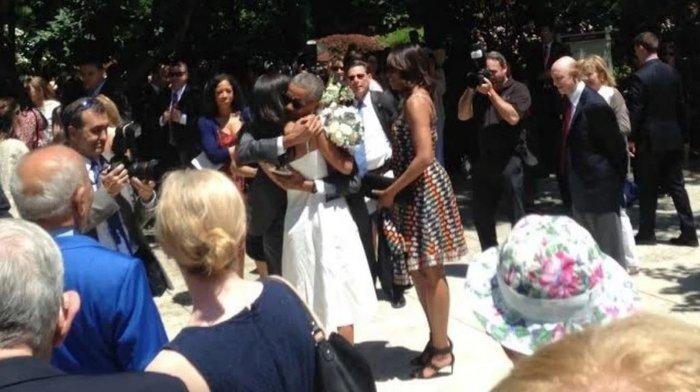 Τα δάκρυα του Ομπάμα στην αποφοίτηση της κόρης του - εικόνα 2