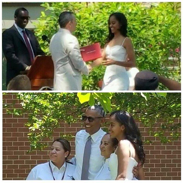 Τα δάκρυα του Ομπάμα στην αποφοίτηση της κόρης του - εικόνα 3