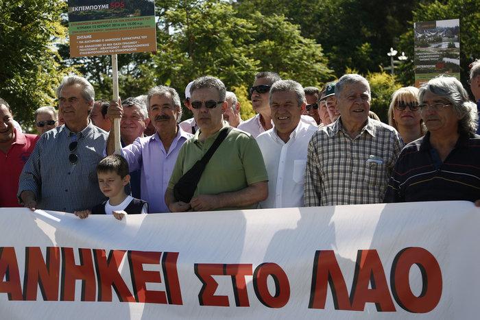 Διαμαρτυρία κατοίκων για το πάρκο Τρίτση - εικόνα 6