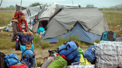Επιχείρηση εκκένωσης καταυλισμών στην Ειδομένη