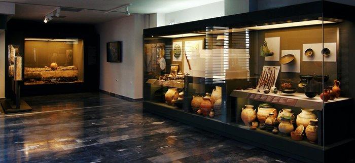 Εσωτερική άποψη του Μουσείου