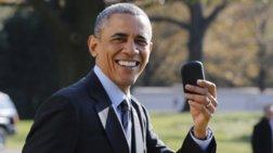 Ο Ομπάμα σιχαίνεται το κινητό του και εξηγεί γιατί  -βίντεο