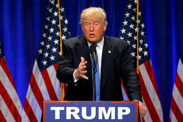 Ο υποψήφιος των Ρεπουμπλικανών Ντόναλντ Τραμπ