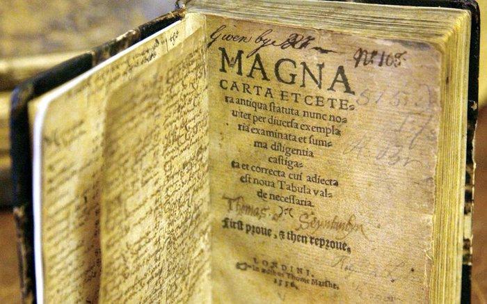 Μάγκνα Κάρτα, ο μεγάλος χάρτης των ελευθεριών