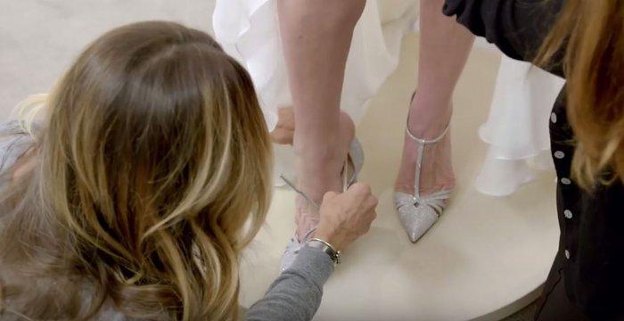 Η εμμονική με τα παπούτσια «Κάρι Μπράντσο» και η έκπληξη-σοκ σε 3 νύφες - εικόνα 8