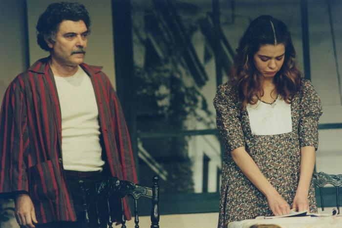 Η Ταυτότητα (1995) στην κεντρική Σκηνή του Εθνικού με τον Στέφανο Κυριακίδη