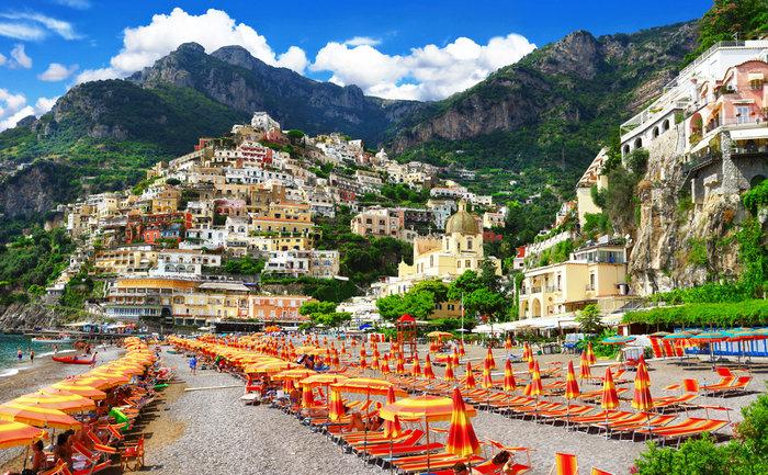 Positano Ιταλία