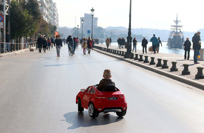 Κλείνει την Κυριακή η λεωφόρος Νίκης στη Θεσσαλονίκη