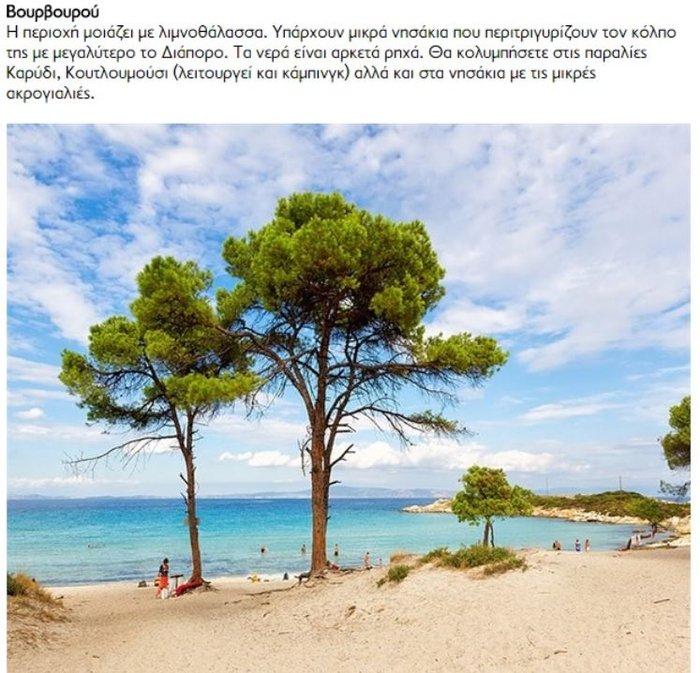 25 «βελούδινες» πευκόφυτες παραλίες της Χαλκιδικής - εικόνα 25