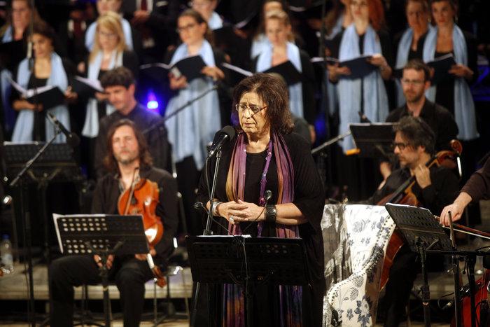 Οταν η Φαραντούρη τραγούδησε Μίκη στη Σύνοδο Ορθοδοξίας (Εικόνες & βίντεο)