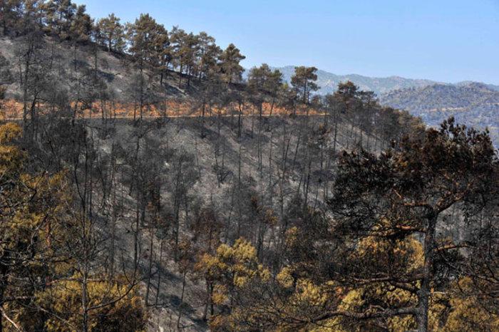Κόλαση φωτιάς και εκρήξεις στην Κύπρο