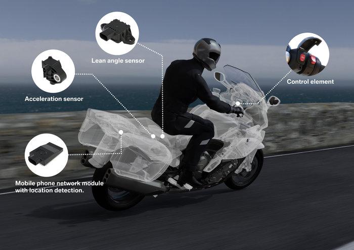 BMW Motorrad eCall: Η μηχανή σου θα καλεί για βοήθεια αν έχεις τρακάρισμα