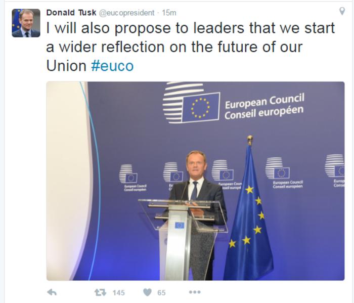 Ο Τουσκ μιλάει πλέον για την Ευρωπαϊκή Ένωση των 27 - εικόνα 2