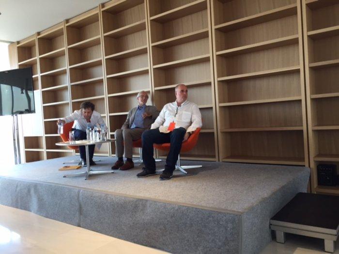 Ρέντζο Πιάνο και Ανδρέας Δρακόπουλος στη συνέντευξη τύπου