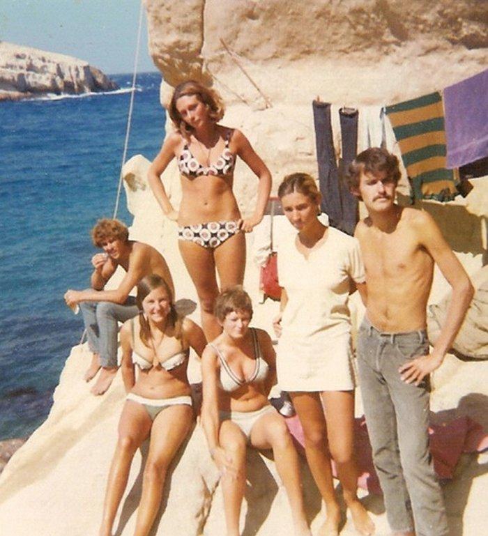 Όταν η Τζόνι Μίτσελ έκανε διακοπές στα Μάταλα