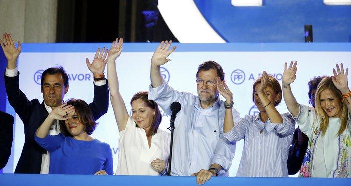 Aνατροπή στην Ισπανία, νίκη Ραχόι, τρίτοι οι Podemos