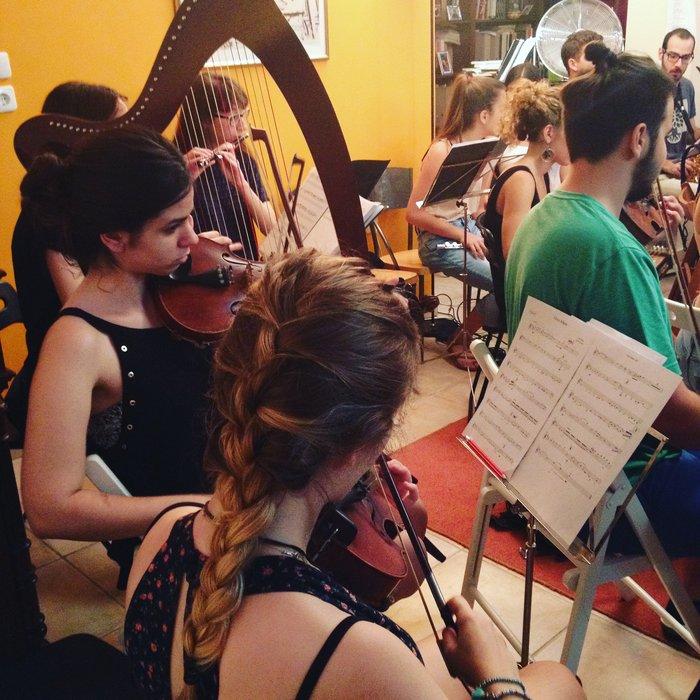 Η Έλλη Πασπαλά σε μια ευτυχισμένη συνεργασία με την Youth Orchestra - εικόνα 5