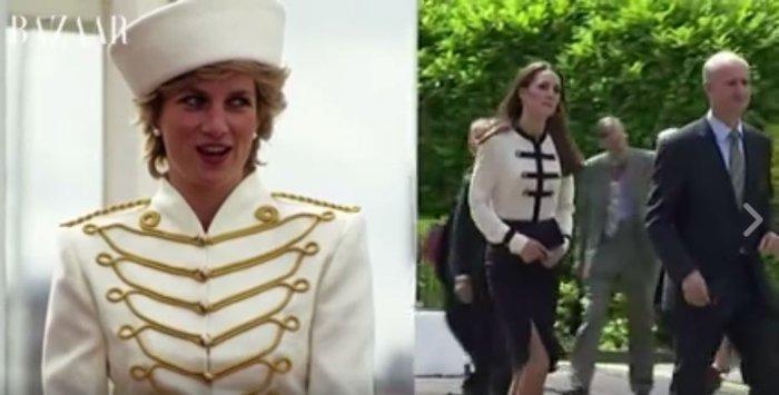 15 φορές που η Κέιτ Μίντλετον αντέγραψε την πριγκίπισσα Νταϊάνα - εικόνα 3