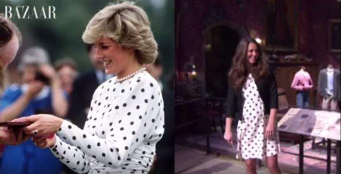 15 φορές που η Κέιτ Μίντλετον αντέγραψε την πριγκίπισσα Νταϊάνα - εικόνα 4