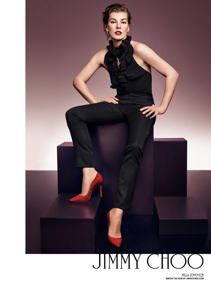 Milla Jovovich, 40 ετών.
