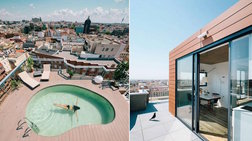 Ενα εκπληκτικό Penthouse στην Μαδρίτη
