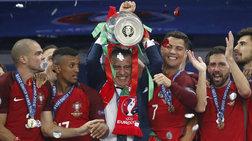 Πρωταθλήτρια Ευρώπης η Πορτογαλία -Νίκησε 1-0 τη Γαλλία