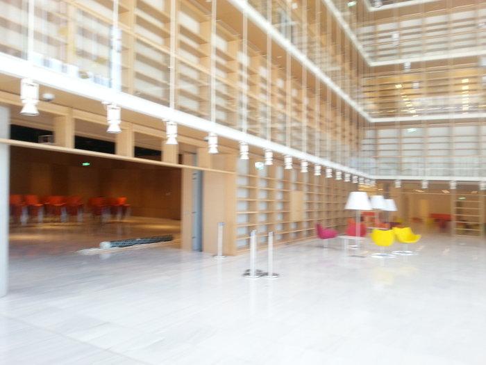 Οι χώροι της Βιβλιοθήκης