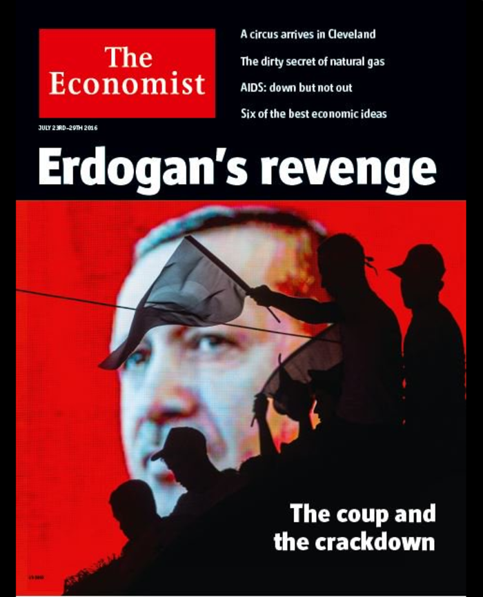 To εξώφυλλο του Economist