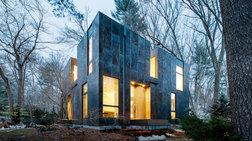 Ένα πολυτελές σπίτι στη μέση του δάσους