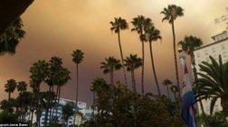 Σκοτείνιασε το Λος Άντζελες από τις πυρκαγιές